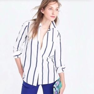 J. Crew | Boy Button Down Shirt in Bold Stripe 6